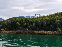 Views on a cruise. This image was captured while on a cruise  from Haines Harbor to Juneau,  Alaska Stock Image