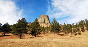 Views of Devils Tower Stock Image