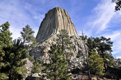 Views of Devils Tower Stock Photo