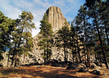 Views of Devils Tower Royalty Free Stock Photo