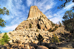 Views of Devils Tower Stock Photos