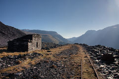 Views from Dinorwig Quarry Royalty Free Stock Image