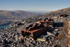 Views from Dinorwig Quarry Royalty Free Stock Photography