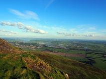 Views from Dumyat, River Forth Stock Image