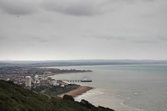 Views from Eastbourne. Photos of views from Eastbourne, United Kingdom stock images