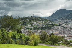 Views of El Panecillo Stock Images