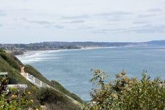 Views of Encinitas Coast Stock Photo