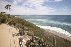 Views of Encinitas Coast Stock Photography