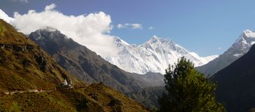 Views of the Everest Stock Images