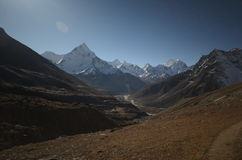 Views of the Everest base camp trek Stock Photography