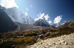 Views of the Everest base camp trek Stock Image