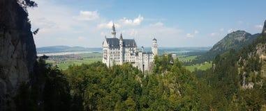 Neuschwanstein castle in Germany stock image