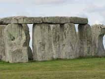 Stonehenge --a prehistoric standing stone monument located in England royalty free stock photo