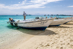 Views of fishing and pleasure boats on the Red sea.Egypt. Stock Photo