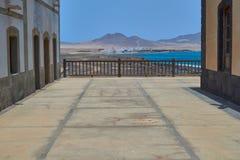 Wonderful view in Puerto de la Cruz, Punta Jandia, Fuerteventura royalty free stock image