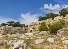 Views of the fortress Fortezza in Rethymnon, Crete Stock Photo