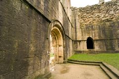 Views of Fountains Abbey in North Yorkshire Royalty Free Stock Photography