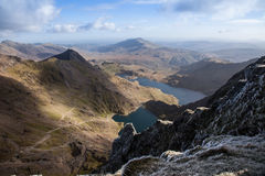 Free Views From Snowdon Royalty Free Stock Image - 27689626