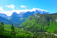 Views of Glacier Stock Photo