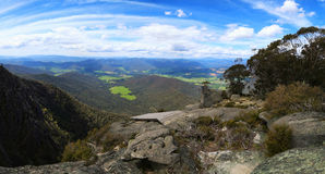 Views on Grampians in Australia Royalty Free Stock Images