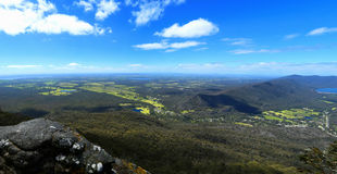 Views on Grampians in Australia Stock Images