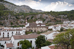 Views of Grazalema, Cadiz. Royalty Free Stock Images
