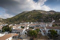 Views of Grazalema, Cadiz. Royalty Free Stock Images