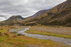 Views from the Great Alpine Highway, New Zealand Royalty Free Stock Image