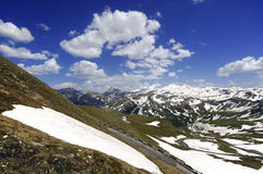 Views of the grossglockner High Alpine Road in Austria Europe Stock Images
