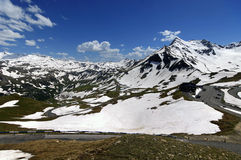 Views of the grossglockner High Alpine Road in Austria Europe Stock Image