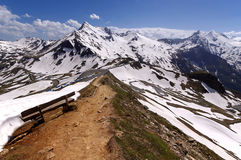Views of the grossglockner High Alpine Road in Austria Europe Stock Photo