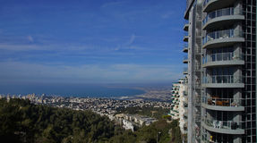 Views of Haifa Royalty Free Stock Photography