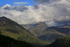 Views from Hatcher Pass stock photos