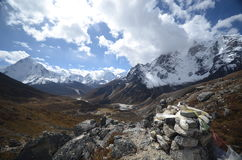 Views of the Himalayas Royalty Free Stock Image