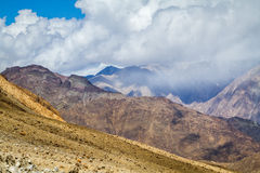 The views in the Himalayas Royalty Free Stock Image