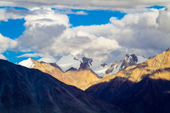 The views in the Himalayas Stock Photos