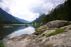 Views of the Hintersee Stock Photo