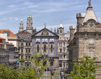 Porto. City landscape. places of Interest. Attractions. Stock Photography
