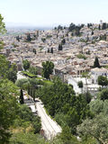 Views of historic Granada, Spain, Andalusia Royalty Free Stock Images