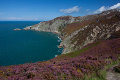 Views from Holyhead Mountain Royalty Free Stock Images