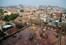 Views on housetop of Gulangyu island Royalty Free Stock Photos