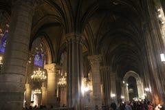 Views from inside. `Notre Dame`, Paris stock photos