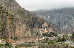 Views of Iruya village Royalty Free Stock Photo