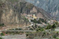 Views of Iruya village Stock Photography