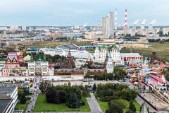 Views of the Izmailovo Kremlin and Moscow regions Royalty Free Stock Photos