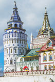 Views of the Izmailovo Kremlin tower in Moscow Stock Photos