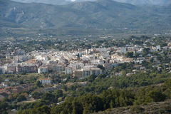 Views of Javea town Royalty Free Stock Photos