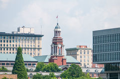 Views of Knoxville Tennessee downtown on sunny day Stock Photos