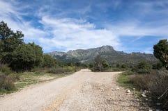Views of the La Barranca Valley Stock Photography