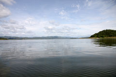 Views of the lake in Thailand. Royalty Free Stock Photography